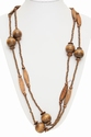Double Wooden Necklace