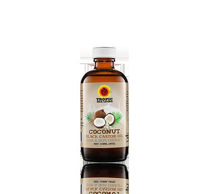 Tropic Isle Jamaican Coconut Black Castor Oil
