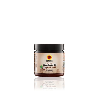 Tropic Isle Coconut Jamaican Black Castor Oil Hair Food  118ml