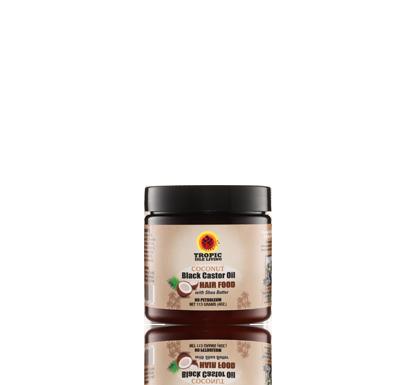 Coconut Jamaican Black Castor Oil Hair Food