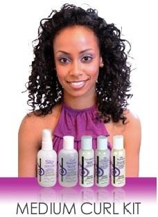 Curly Hair Solutions Medium Curl Starter Kit