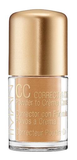 Iman CC Correct & Cover Skin Tone Evener Powder to Crème