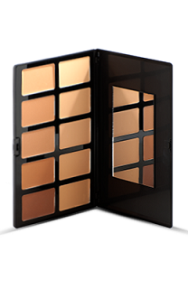 Sacha Make-up Pallet Cream Foundation - Medium to dark