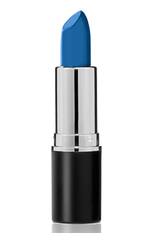 Sacha Cosmetics New Intense Matte Lipsticks - Peek-a-blue