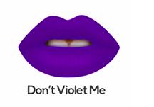 Sacha Cosmetics Intense Matte Lip Velvet -  Don't Violet me