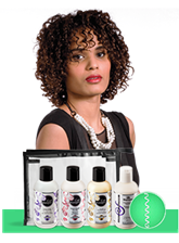 Curly hair Solutions Tight Curl Starter Kit